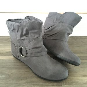 Rampage Slouch Ankle Boots